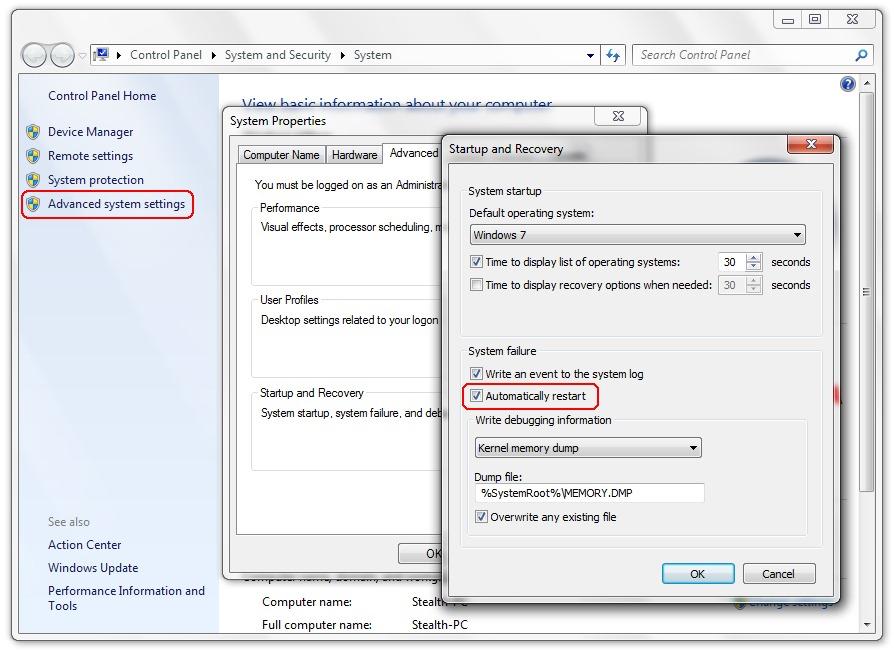 Benachrichtigungsdienst Für Systemereignisse Windows 7 Deaktivieren