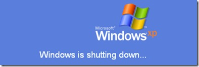 Windows XP中 - 重新啟動