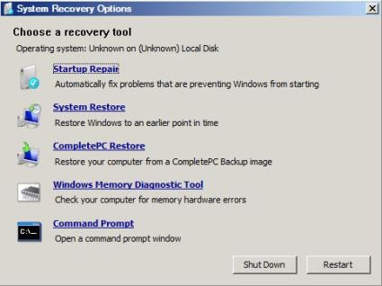 Windows 7 Boot Option isn't Available in Boot Manager: Dual