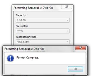 USB формат