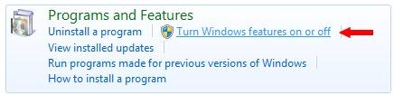 Uninstall / Remove Windows Media Center in Windows 7