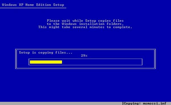 setup-is-copying-files
