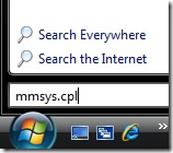 mmsys.cpl