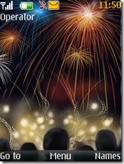 download nokia fireworks new year theme download theme
