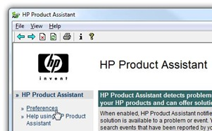 HP product assistant