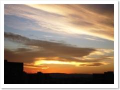 Sunset - Sony cyber shot