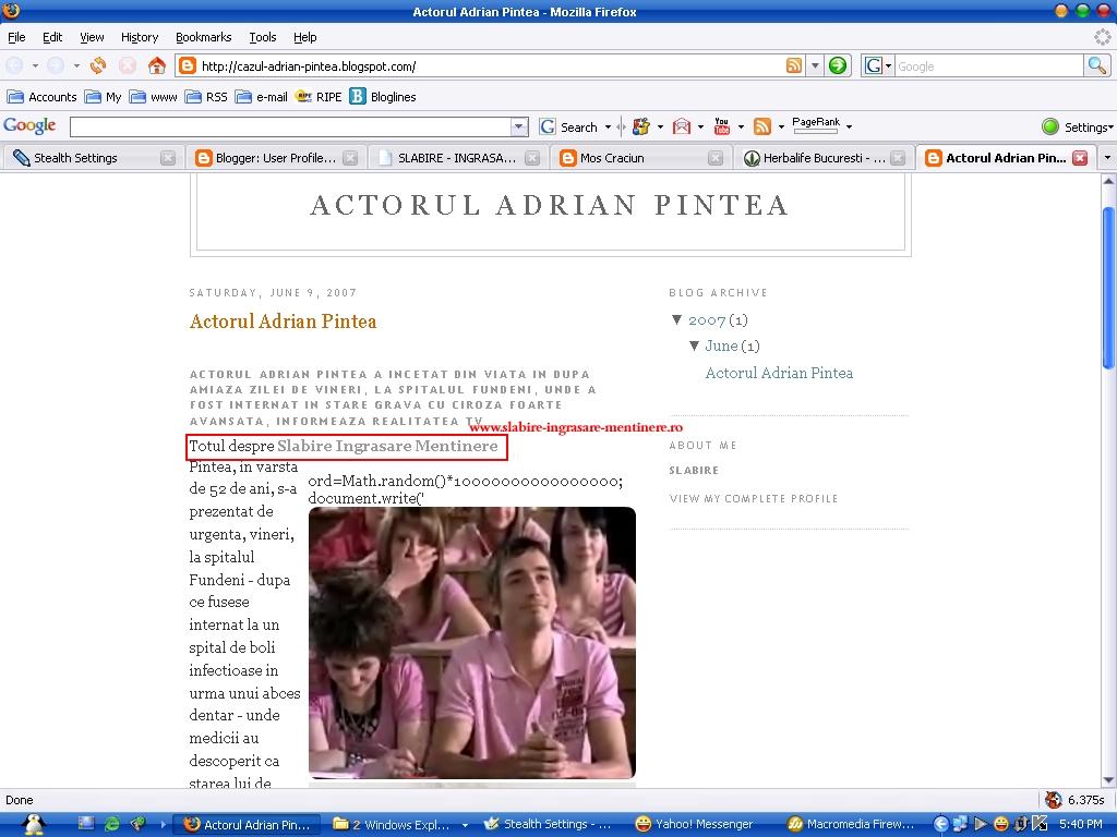 internetski blogspot