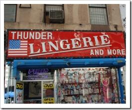 Donder Lingerie. Peep Show!