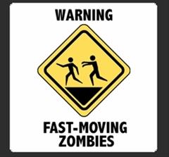 Szybko poruszające się zombie