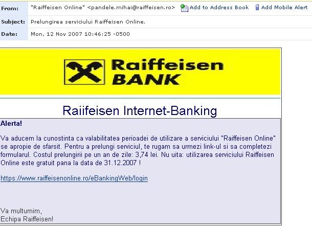 Raiffeisen Bank Online