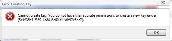 error-стварање-кључа