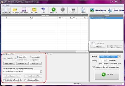 verificar arquivos duplicados