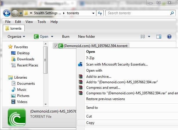 file ed2k con utorrent