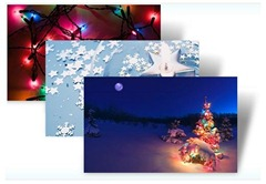 HolidayLightsWindows7Theme