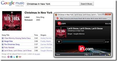 Chanson de Noël - New York