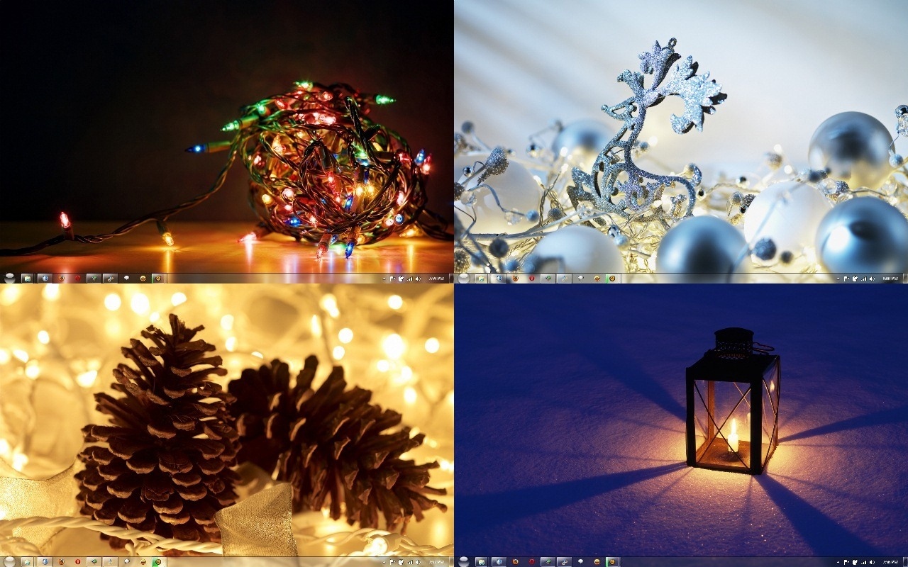 download holiday lights theme for windows 7