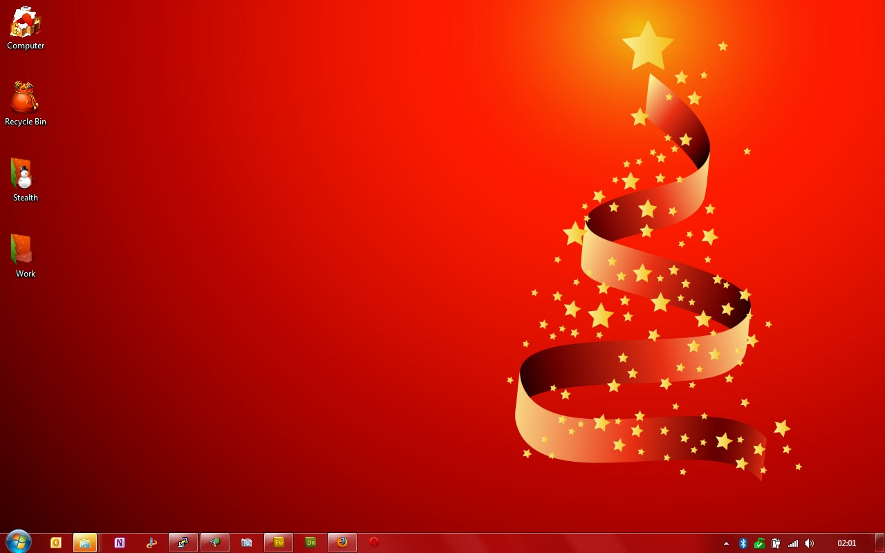 microsoft office christmas wallpaper