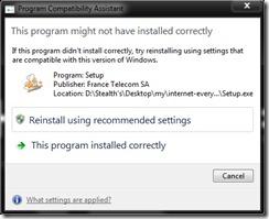 compatibility-assistant program