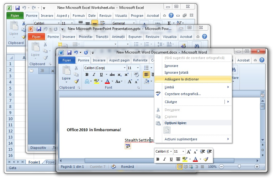 download office 2010 language pack  office in romana