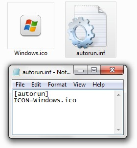 autorun.inf-παράθυρα