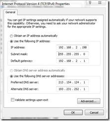 Statični IP