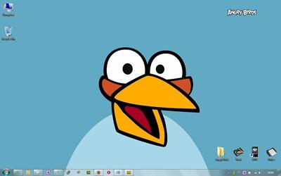 แองกรี้เบิร์ด Desktop W7
