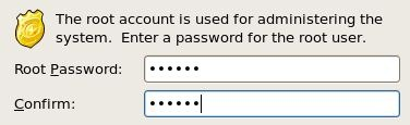 CentOS root Password