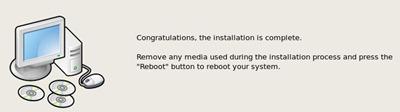 CentOS Reboot - Instalação