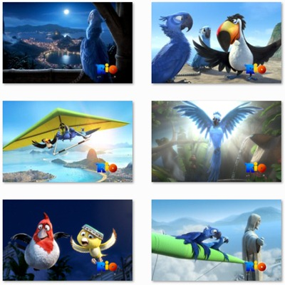 Rio Movie Theme Windows 7