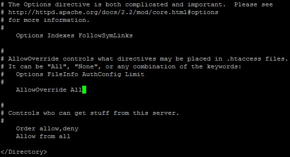 enable mod rewrite apache centos