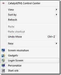 Giriş ekranı-özelleştirmek