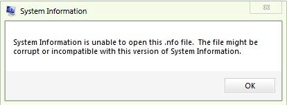 信息-error