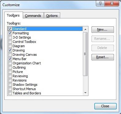 Prilagodite PowerPoint orodno vrstico