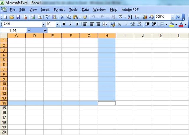 Cómo identificar los elementos de una hoja de cálculo en Excel ...