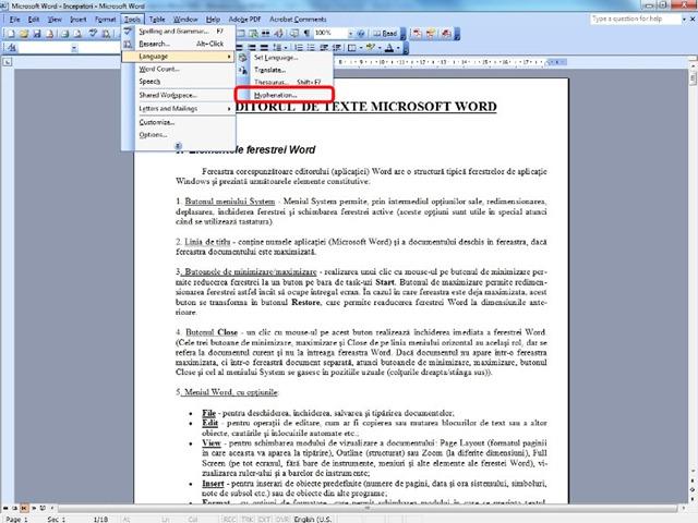 c u00e9sure de texte et de sectionnement d u0026 39 un document dans