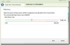 w8-VirtualBox-זיכרון