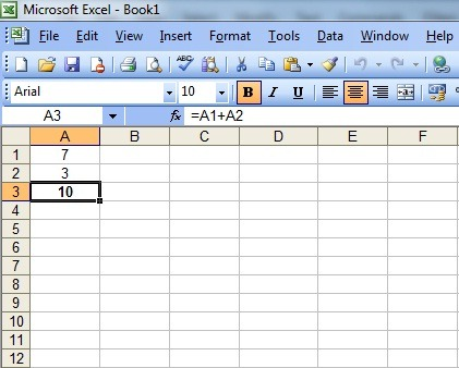 Bedienung Excel