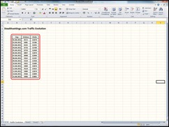 Excel tabel