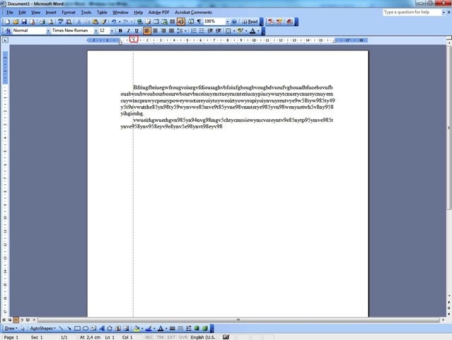 how to create a hanging indent in word 2010
