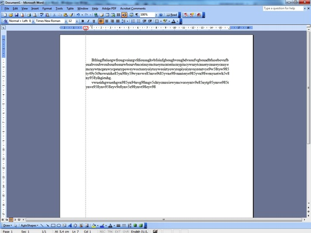how to put hanging indent in word