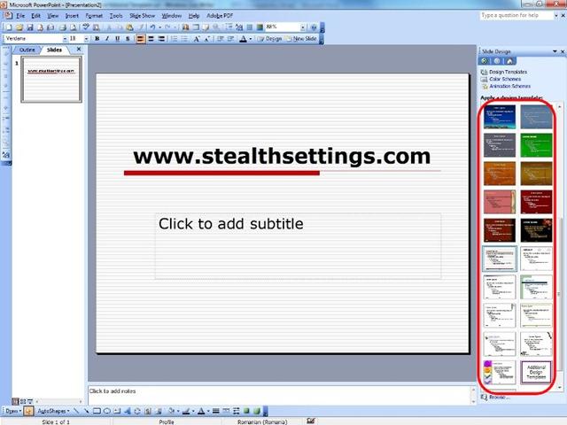 Создание и сохранение шаблона PowerPoint - PowerPoint 76