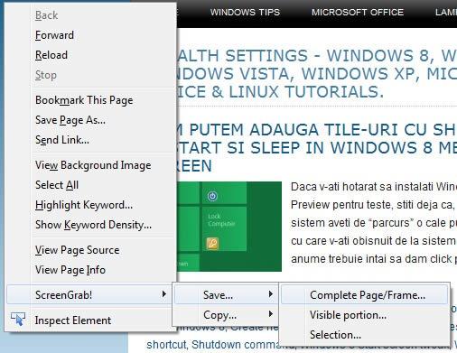ScreenGrab - Firefox Add-Kaj