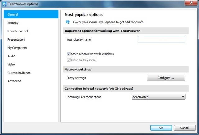 Kontrol jarak jauh PC Anda dengan Teamviewer - PENGATURAN