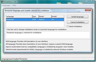 install-sproget