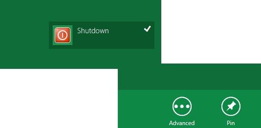 shutdown pin