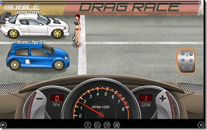 Android gry Race