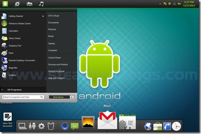 Android Themes Windows 7