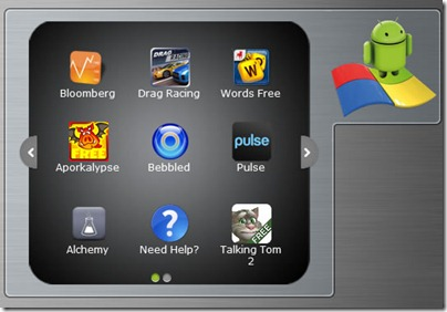 BlueStacks Desktop Gadget