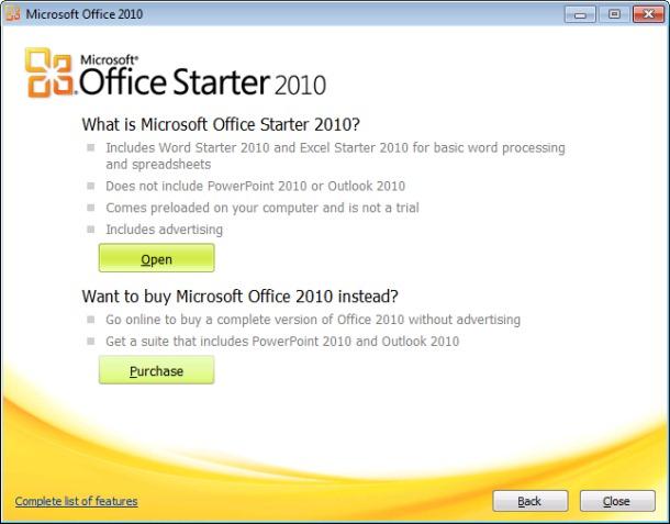 microsoft office starter 64 bit free download