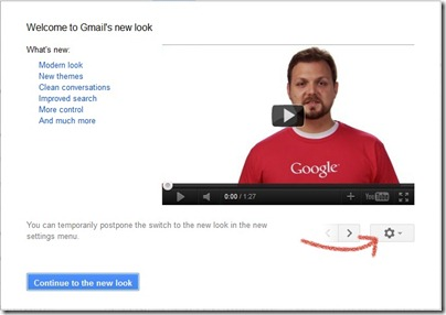 New Gmail-features